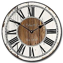 Old Paint Clock, 12-48, Whisper Quiet, non-ticking