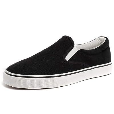 ZGR Mens Slip on Canvas Loafer Sneakers | Loafers & Slip-Ons