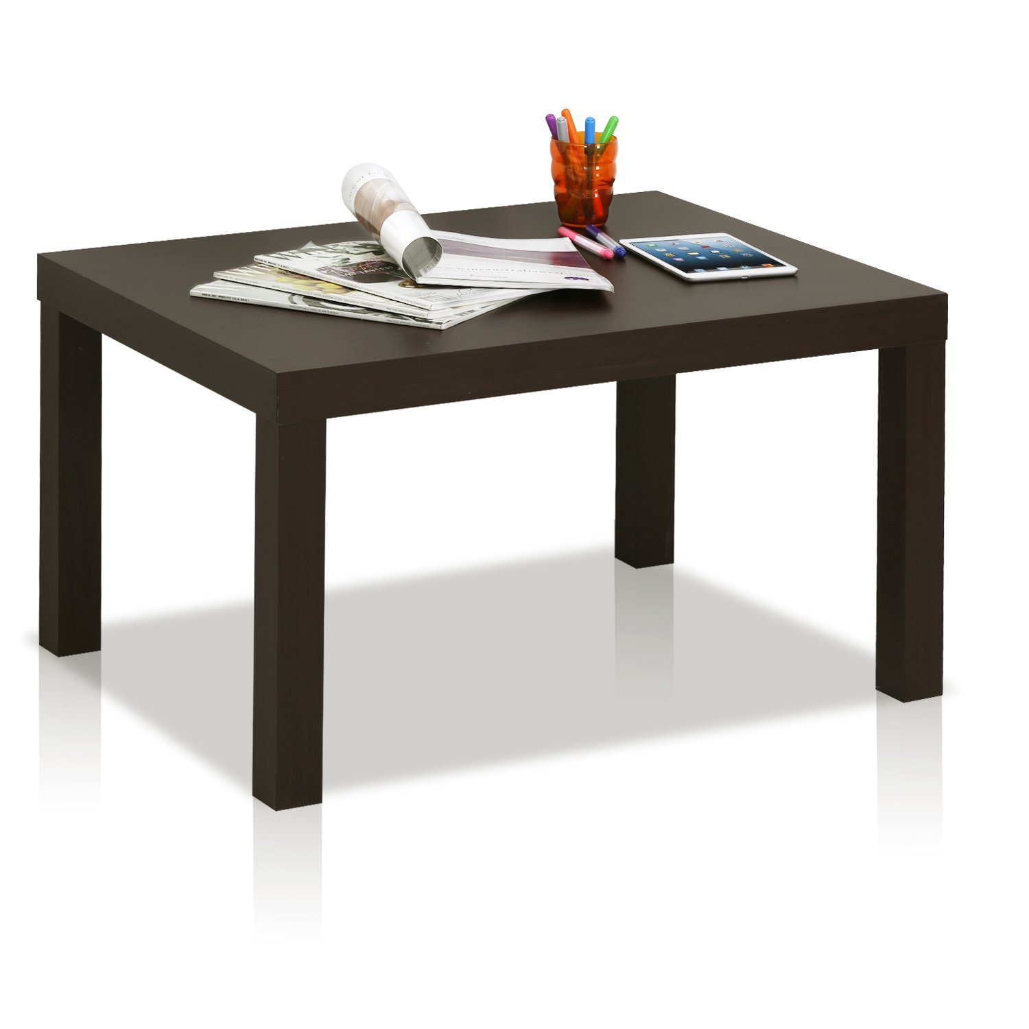 Amazon FURINNO Classic Rectangular Coffee Table FRN002EX