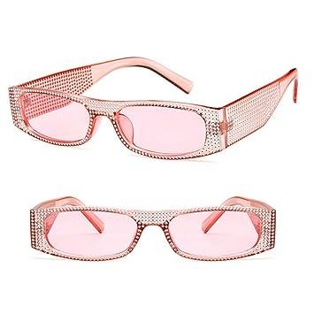 ZHENCHENYZ Gafas de Sol cuadradas de la Marca para Mujer ...