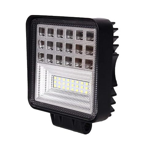 Barra de luces LED 4 pulgadas 126W Luces de trabajo ...