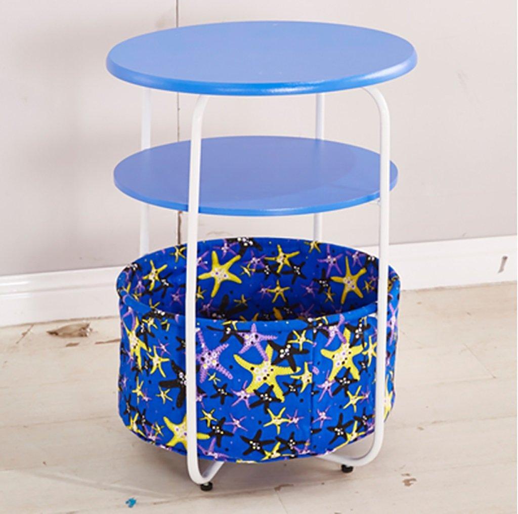 シンプルなソファのサイドテーブルのサイドのいくつかのシェルフの角度コーナーベッドルームのベッドサイドのコーヒーテーブルの自宅の電話小さな丸いテーブル (色 : D, サイズ さいず : 42*53センチメートル) B07F83KBJ2 42*53センチメートル|D D 42*53センチメートル