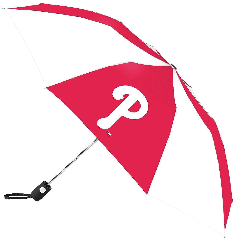 MLB Philadelphia Phillies自動折りたたみ傘、マルチカラー   B00V5B88XO