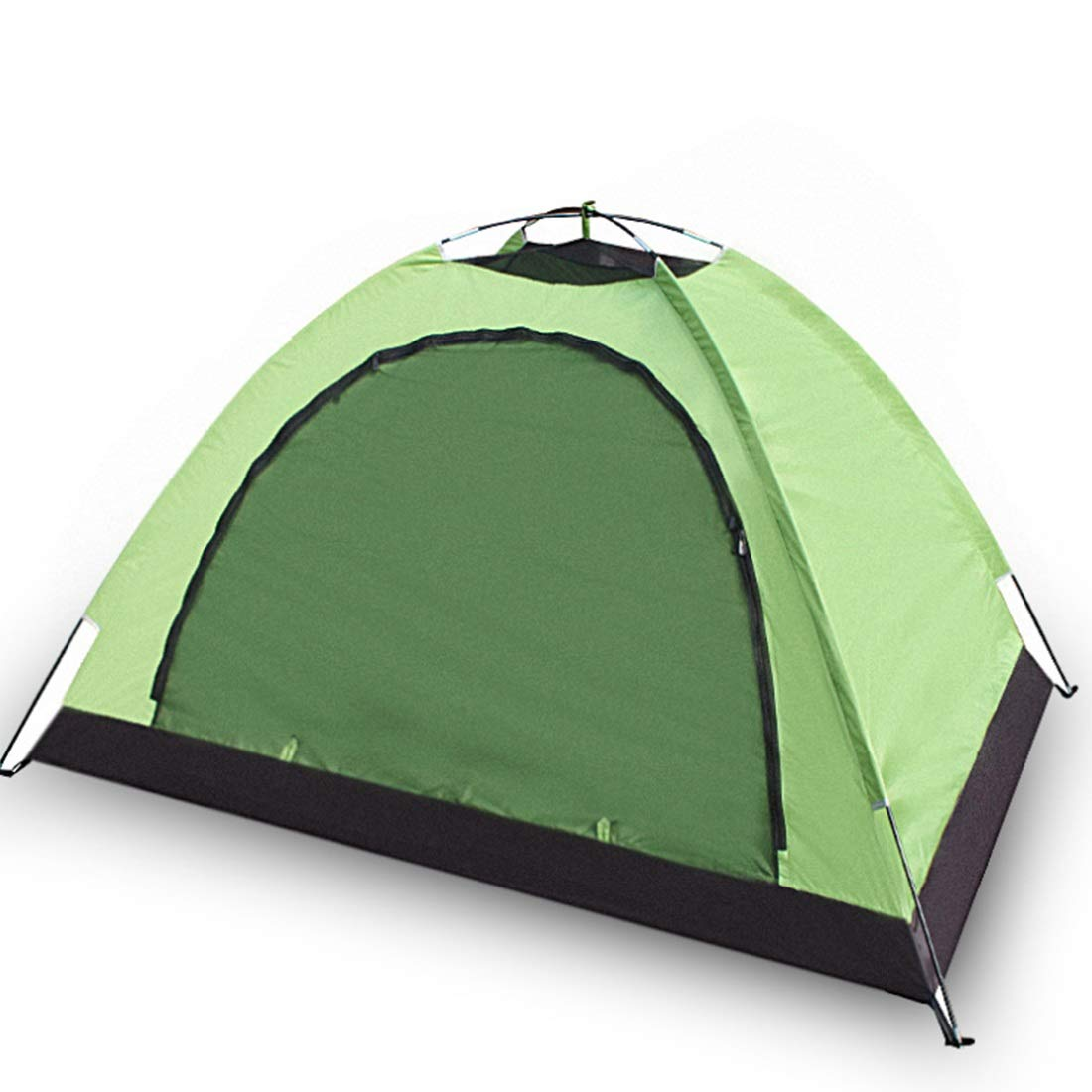Fepelasi Wildes kampierendes Zelt im Freien für 1 Person (Farbe : Grün)