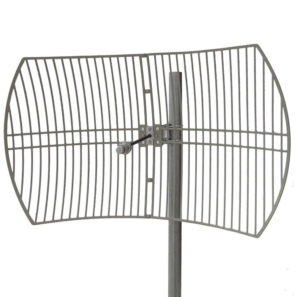 Altelix 5 GHz 30 dBi Ultra High Gain WiFi Parabolic Grid Antenna (5150-5850 MHz) N Female