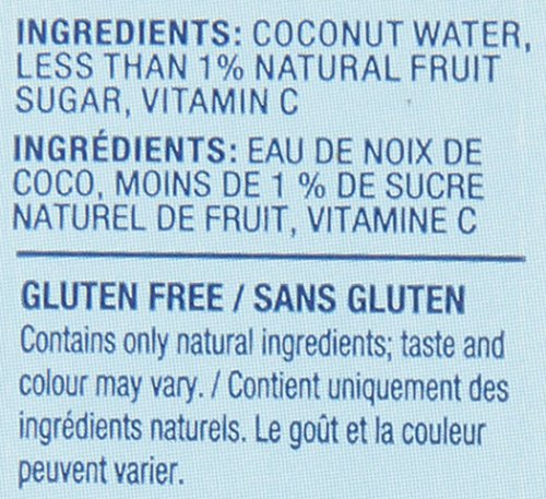 Vita Coco Coconut Water, Pure - Naturally Hydrating Electrolyte Drink - Smart Alternative to Coffee, Soda, and Sports Drinks - Gluten Free - 33.8 Ounce (Pack of 12) by Vita Coco (Image #3)