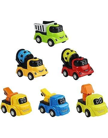 Symiu Macchina Giocattolo Macchinine Set Veicoli Mini Camion Escavatore  Bulldozer Dumper Ruspa Giocattolo 6 Pezzi per ba7514ef5a7e
