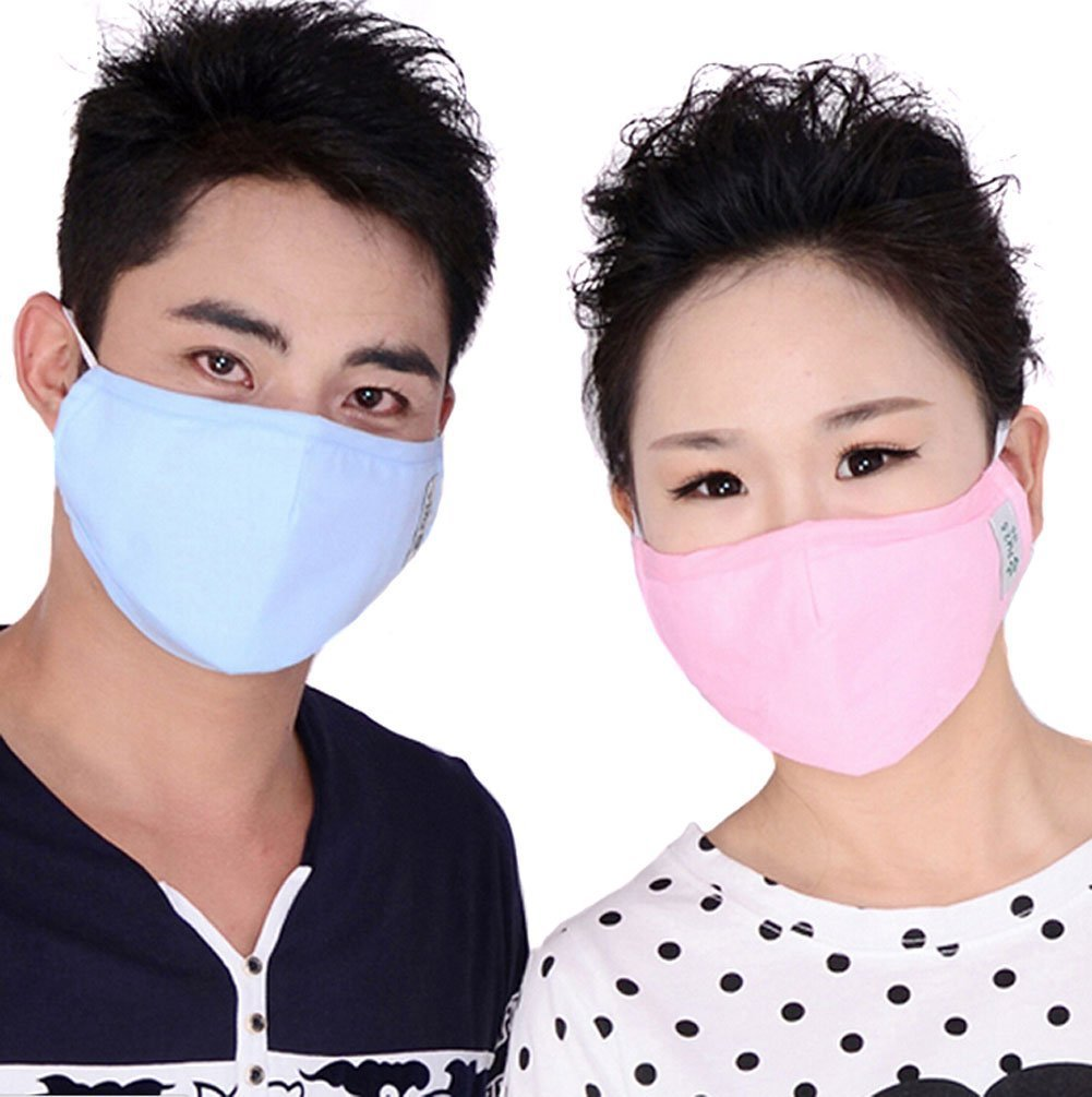 Mask-pack Anti-fog Washable Warm Carbon Antibacterial Anti Adult Earloop Pm Mouth Activated 2 Filter Mask Dust 5 Face Pollen