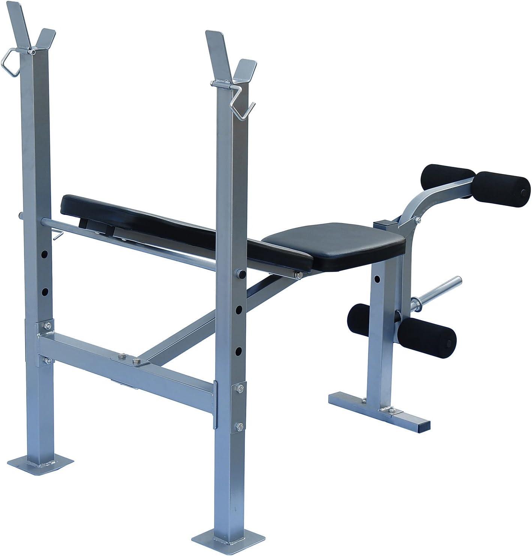 Soozier B1-0111 Incline Flat Adjustable Weight Bench Press