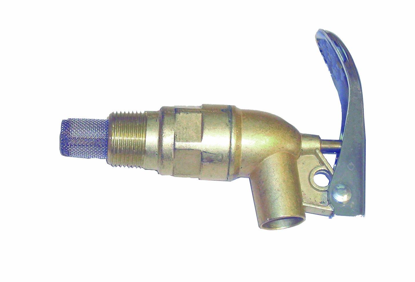 Wesco 272083 Zinc Die Cast Faucet with Viton Gasket, 0.75'' NPT Connection