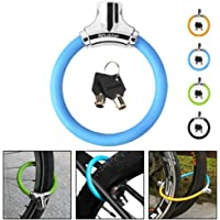 NDakter Bike Lock with 4ft Security Cable, 12mm Anti Theft Kids Bike Lock, Lightweight Unbreakable Bicycle Wheel Locks…