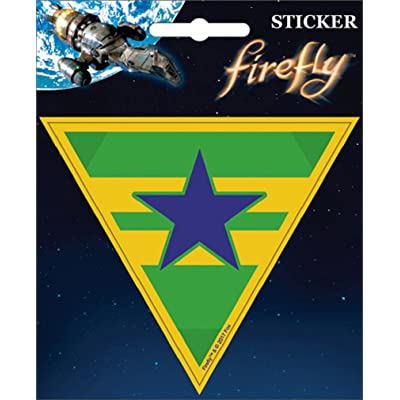 "Ata-Boy Firefly Independence 4"" Full Color Sticker: Arts, Crafts & Sewing"