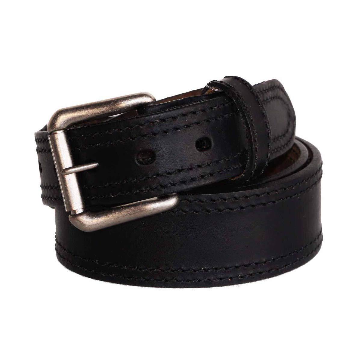 """Size 36 R.G BULLCO RGB-129 1-1//2/"""" Black Ranger Leather Belt"""