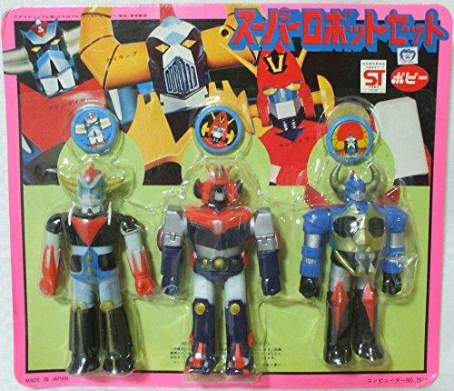 Grendizer Combattler V Gaiking Super Robot set of (Robot Poppy compare prices)