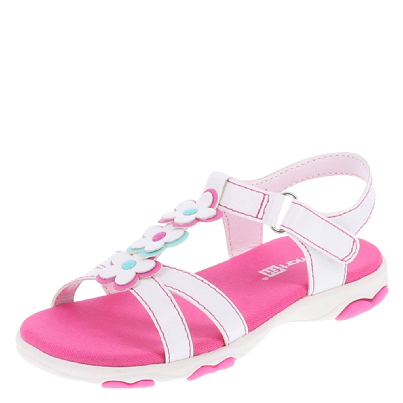 SmartFit Girls' Chase Flower Play Sandal 078233-Parent