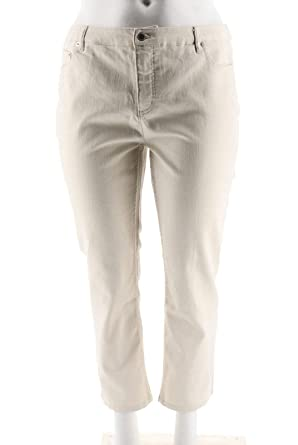 1ff03cba916 Liz Claiborne NY Jackie Ankle Length Jeans A264119 at Amazon Women's Jeans  store