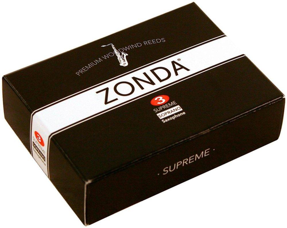Zonda ZS2030 3 Strength Supreme Reeds for Soprano Saxophone, Box of 5