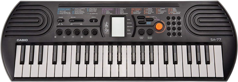 Casio SA-77 44-Key Portable Keyboard: Amazon.es: Instrumentos ...