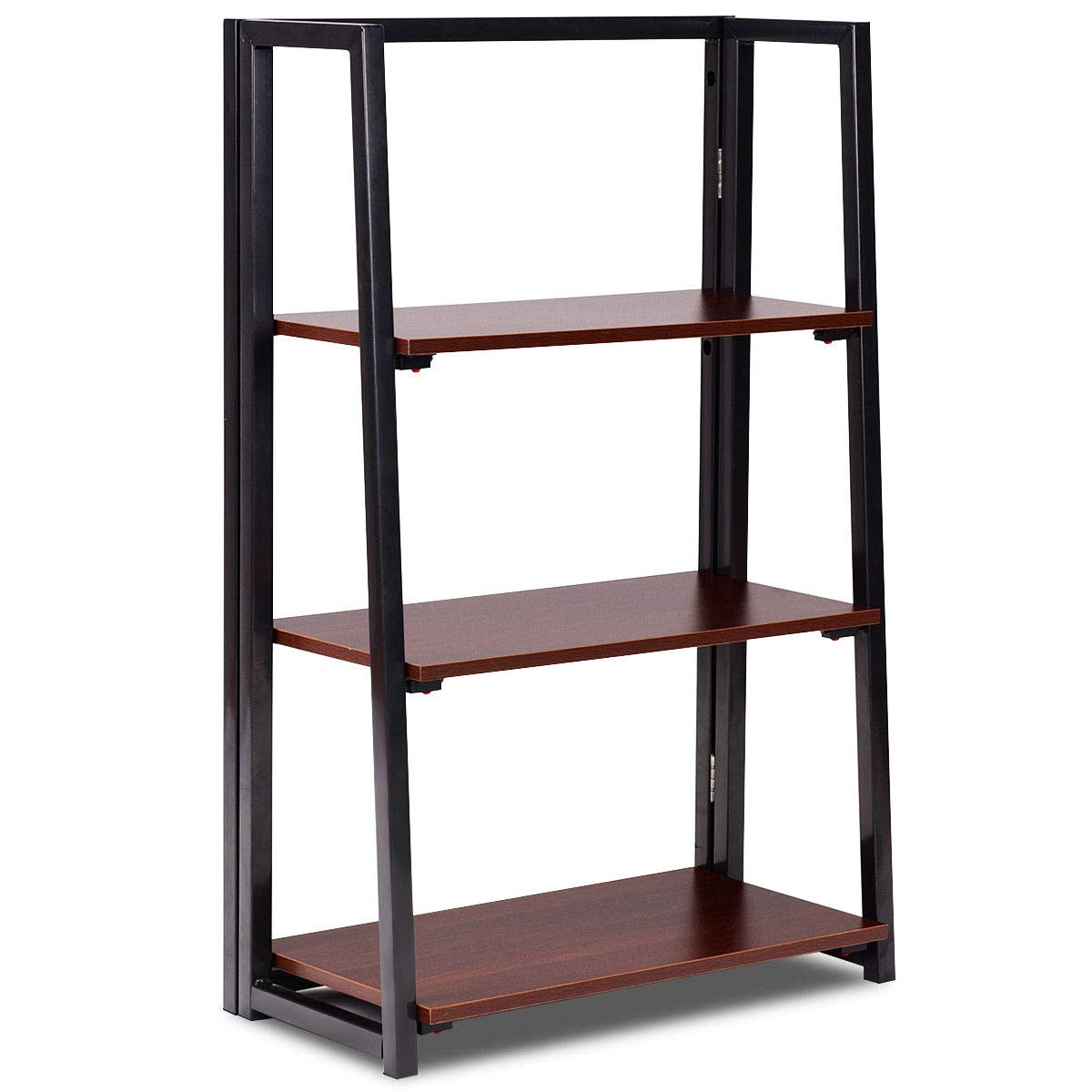 Amazon.com: Caraya - Estantería plegable con 3 estantes ...