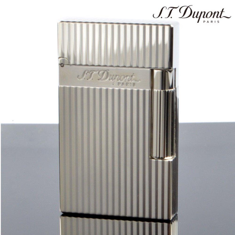 S.T.Dupont (エステーデュポン) ライター ライン2 シルバー モンパルナス ヴァーティカルライン 16817[国内正規品] B01LZAH40A