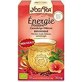 Yogi Tea Énergie Positive Canneberge Hibiscus 17 Sachets