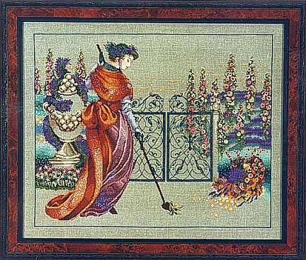 Mirabilia - My Lady's Garden - Cross Stitch Pattern #9