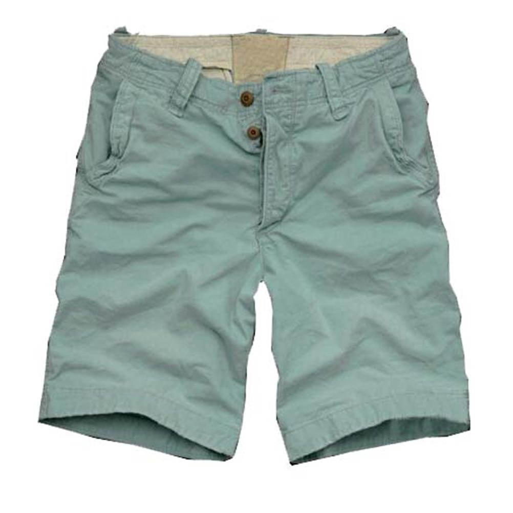 07adb2f4b0c2 qingsun Shorts Hose Plissee kurze Sport- Strand Beach Lässige 100%  Baumwolle – blau Gr. 33, Blau - Blau  Amazon.de  Bekleidung