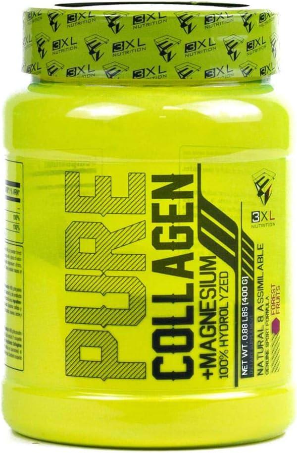 3XL Pure Collagen 400 gr Frutas de Bosque
