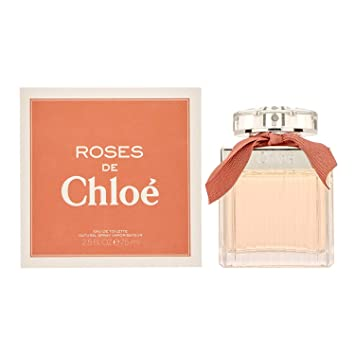 Amazoncom Chloe Roses De Chloe Eau De Toilette Spray 25 Oz