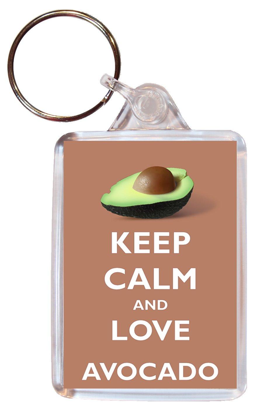 Keep Calm And Love aguacate - doble cara llavero grande ...