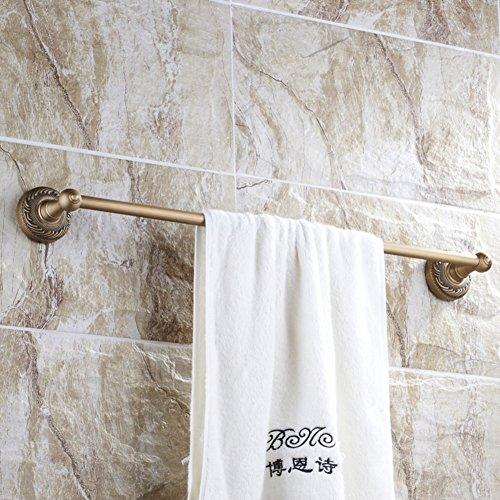 85%OFF Bathroom Towel Bar/Brief European copper Towel Bar/Single-layer towel bar/towel tubes-I
