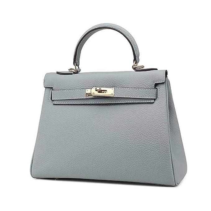Amazon.com: Bolsas de piel para mujer, bolsas de diseñador ...