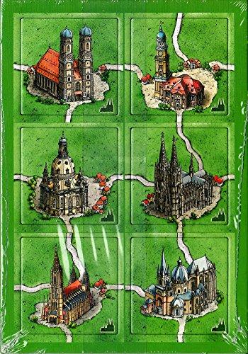 Carcassonne: German Cathedrals -Kathedralen Deutschland Mini Expansion