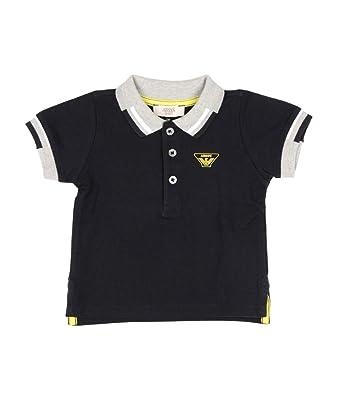 Emporio Armani Junior Polo in Cotone Piqué Bambino Baby Boy Mod ...