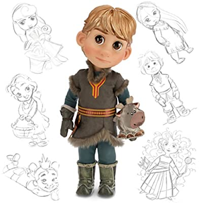 Disney Animators Collection Frozen Kristoff Doll with Sven 16: Toys & Games