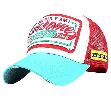 Botrong - Gorra de béisbol para mujer, bordada, diseño de flor ...