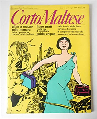 Ebook téléchargeable gratuitement pdf Corto Maltese anno 2 numero 07, julio 1984 en français PDF iBook B00FEJXO1O