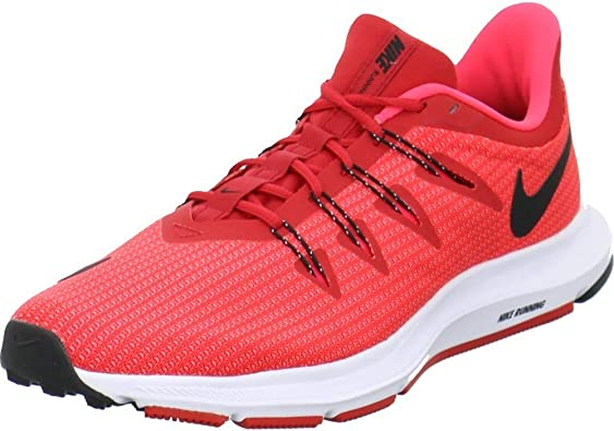 Nike Quest, Zapatillas de Atletismo para Hombre, Multicolor (University Red/Black/Red Orbit 600), 41 EU: Amazon.es: Zapatos y complementos