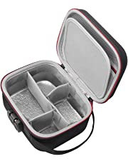 RLSOCO Smell Proof Case for Herbs, Weeds - Fits Pax2/Grinder/Container & More Accessories Travel with Combo Lock, Keeps Odor Moisture Corrosion Out