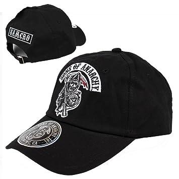 bf96fa924c5 Sons of Anarchy - SAMCRO snapback men s baseball cap  Amazon.co.uk ...