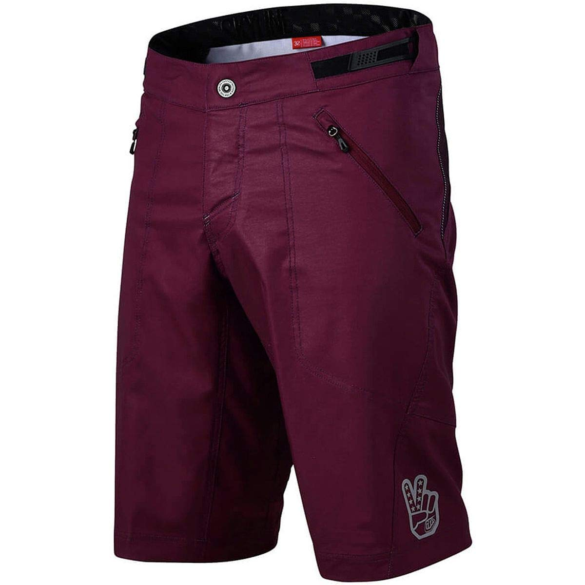 Troy Lee Designs Skyline Men's Off-Road BMX Cycling Shorts - Sangria / 38 by Troy Lee Designs