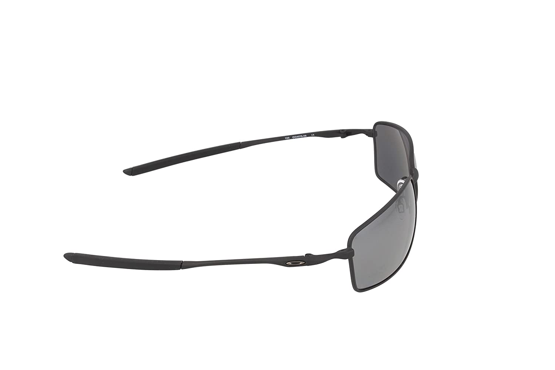 8d2c06ee12078 Amazon.com  Oakley Square Wire Polarized Rectangular Sunglasses ...