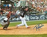 Philadelphia Phillies Rhys Hoskins Autographed 11x14 Photo (Swing)