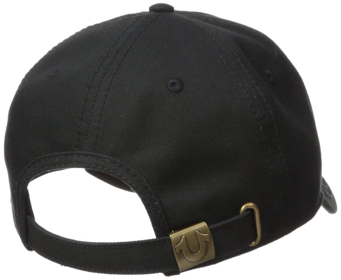 eddbd7c9b3a7b True Religion Men s Overlapped Logo Ball Cap