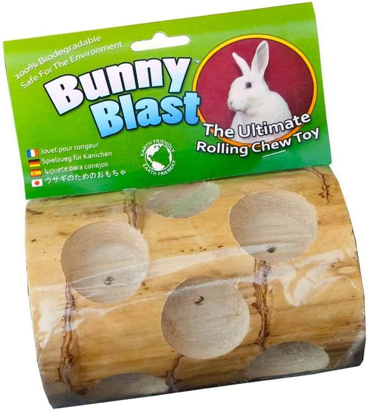 PACK OF 2 Bunny Blast Yucca Chew Toy