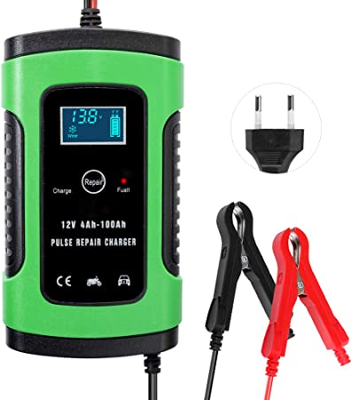 Chargeur de Batterie,Mainteneur 6A 12V Intelligent