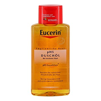 eucerin shower oil
