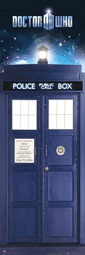 Doctor Who-Tardis Door Poster 20 x 62in & Amazon.com: Doctor Who-Tardis Door Poster 20 x 62in: Dr Who Door ...