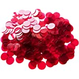Yuanhe 200 Pieces 25mm/1 inch Transparent Bingo Counting Chips