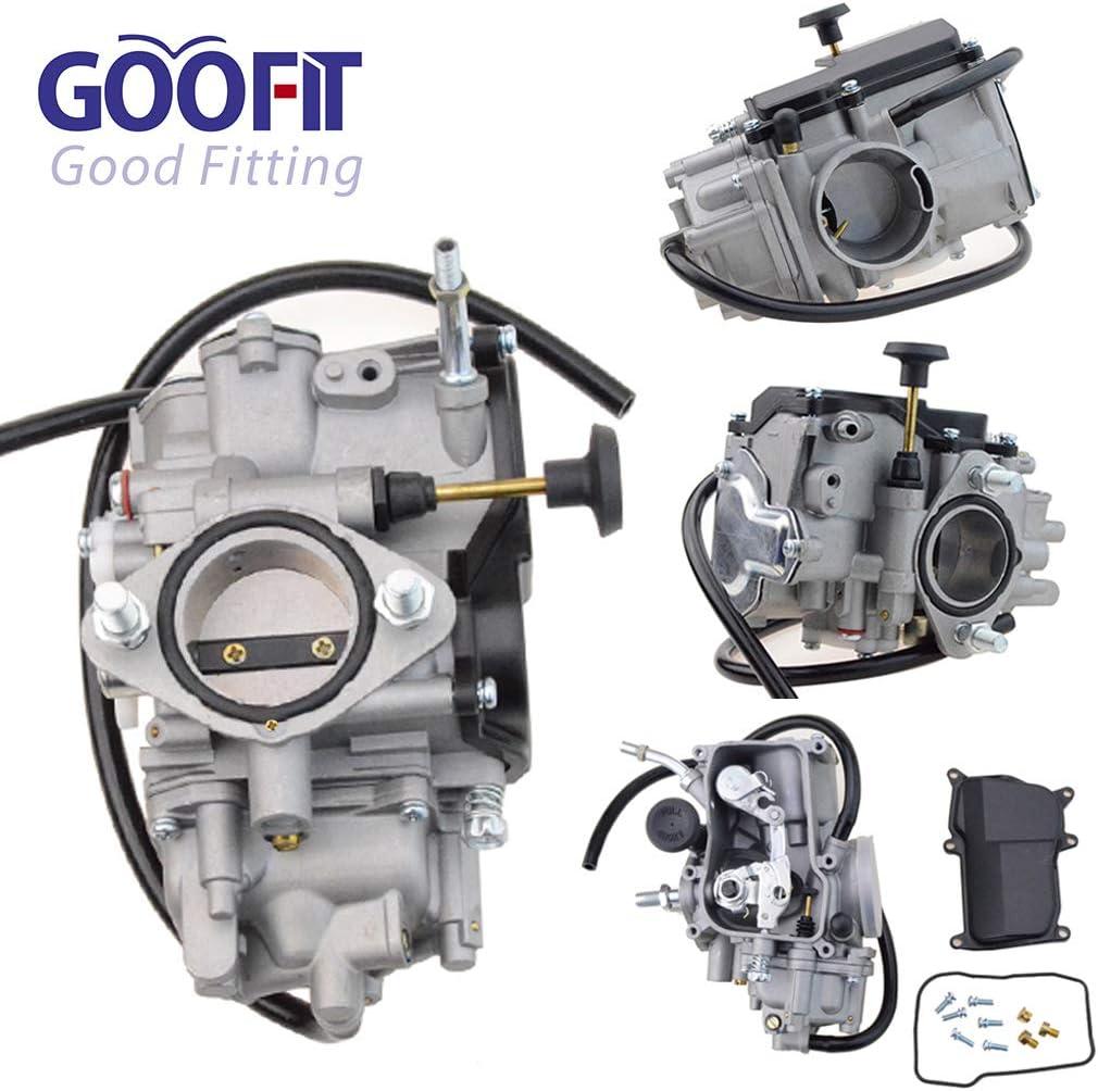 Goofit Vergaser Ersatz Für Yamaha Warrior 350 Koaiak350 Yfm350 Bw350 2004 Moto 4 350cc 1987 2004 Auto